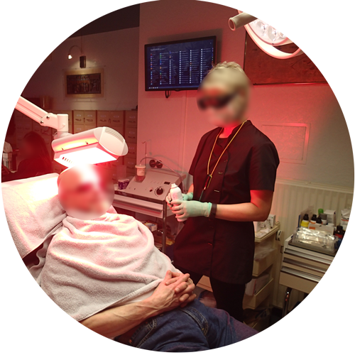 Docteur Pierre Delvoye - Dermatologue à Nandrin - Photothérapie dynamique